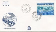 FDC / T.A.A.F. TERRES AUSTRALES TIMBRE PA N° 80 / PORT JEANNE D'ARC