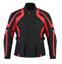 Blousons noirs ajustable en cordura pour motocyclette