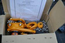 New ListingHarrington Lever Hoist L5Lb008-10sc 3/4 Ton 10 Foot Pull New In The Box
