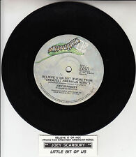 """JOEY SCARBURY Believe It Or Not (Theme From """"Greatest American Hero"""") 45 record"""