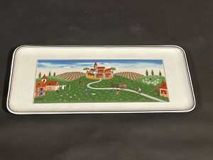 Villeroy & Boch, Design Naif, Tortenplatte, Kuchenplatte Eckig
