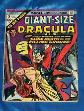 GIANT-SIZE DRACULA # 3, 1974, Claremont / Heck, VERY GOOD Condition