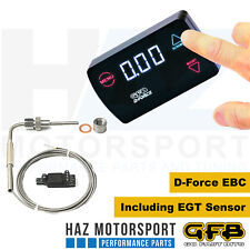 GFB vai veloce Bits D-Force DIESEL Boost controller elettronico con sensore EGT 3007