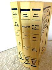 la fosse aux vents -Atalante -Galatée -du Diable / Roger Vercel.3/3.EO Alfama