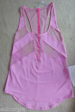 Lululemon If You're Lucky Tank Heather Vintage Pink Raspberry Glo Light 6 8 10