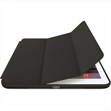 Flip Leather Stand Smart Magnetic Case Cover Slim for Apple iPad mini 4 black