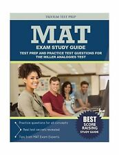 MAT Exam Study Guide: Test Prep and Practice Test Questions for... Free Shipping