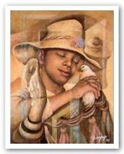 Son Son Essud Fungcap African American Art Print 22x28