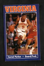 Virginia Cavaliers--1993-94 Basketball Pocket Schedule--Budget