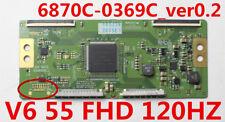 T-Con Board 6870C-0369C871L-2675E 6871L-2710C V6 55 FHD 120HZ SONY 55LW5600-UA