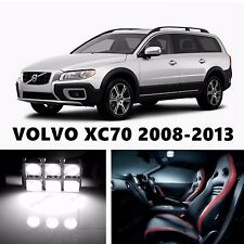 14pcs LED Xenon White Light Interior Package Kit for VOLVO XC70 2008-2013