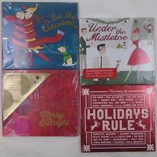 STARBUCKS CHRISTMAS HOLIDAY ALBUM COMPILATION 4 CD LOT NEW SEALED FREE SHIP TX