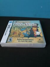 PROFESSOR LAYTON AND THE CURIOUS VILLAGE - DS - UK PAL - NEW & FACTORY SEALED