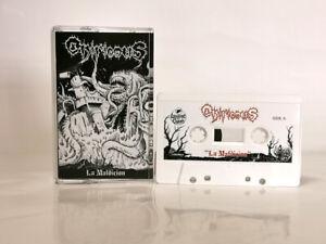 ONIRICOUS - la maldicion (black cover) TAPE Music Cassette