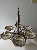 Godinger Likely Silver Plate 6 Tray Elegant Serving Dish