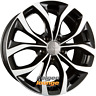 4 Alufelgen PSW Powerful Wheels VILLENEUVE Gloss Black Polished 7,5x17 ET35 5x11