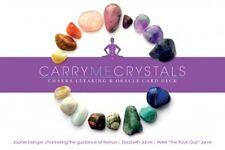 NEW Carry Me Crystals Oracle Cards Deck Joanie Eisinger Elizabeth & Peter Jarvis