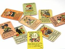 NEW Vintage Style Childrens Nursery Rhyme Snap Card Game | UNDER £5 Family Fun
