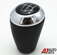 For Mazda 3 5 6 CX-7 MX-5 6 Speed Manual PU Leather Gear Stick Shift Knob Uk