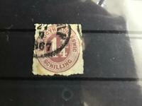 Schleswig-Holstein   1865 unused Rouletted cat 90 stamp R29138
