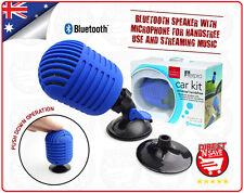 Bluetooth Car Speaker With Microphone Handsfree Use Music Streaming Speakerphone