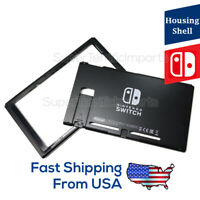 Replacement Housing 👌 for Nintendo Switch HAC-001 Black Top & Bottom shell case