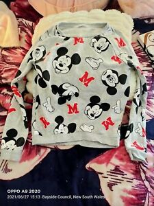 Disney Mickey Mouse top size 10- 12 children(negotiable)