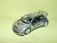 PEUGEOT 206 WRC N°10 RALLYE TOUR DE CORSE 2000 PANIZZI VITESSE Sans Boite 1:43