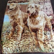 Northpoint Golden Retreaver dog throw blanket 841278111131