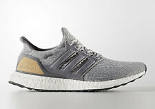 Adidas Ultra Boost 3.0 LTD Leather Cage Grey Tan size 13 .BA1092. NMD