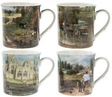 Leonardo Collection Set 4 Chine Tasses Café John Gendarme 1776-1837 Boîte Cadeau
