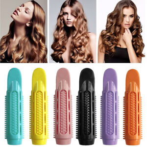 Women Hair Clamps Hair Roots Perm Rods Styling Rollers Fluffy Curler Clips