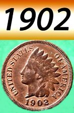 1902 INDIAN HEAD VERY NICE CLEAR PENNY===USED===BRONZE================