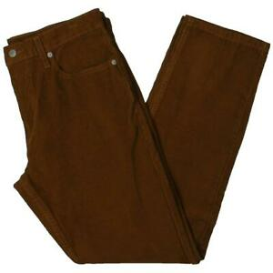 Levi Strauss Mens 502 Tapered Stretch Casual Corduroy Pants BHFO 0905