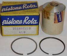 41.8mm Vespa Ciao SI piston, rings, pin, clips NOS Rota brand, Made in Italy