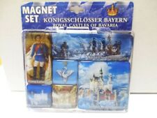 Schloss Neuschwanstein König Ludwig Magnet Set Souvenir,6 tlg.,Neu