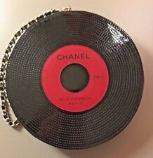 CHANEL Runway Record Bag with Matching Earrings — authentic and mint condition!