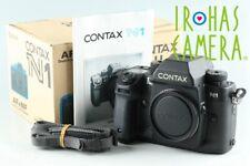Contax N1 35mm SLR Film Camera With Box #26397