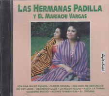 LAS HERMANAS PADILLA Y EL MARIACHI VARGAS CD Sealed