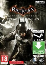Batman Arkham Knight PREMIUM Edition PC STEAM GAME (NO CD/DVD) FAST DELIVERY!