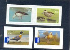 Australia-Water Birds set of 4 mnh self-adhesive-2012