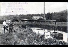ROUEN (76) Invention FAULX AQUATIQUE Ets Avenel / Carte photo postale 1935