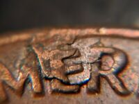 1972-D Retain Lamination US Mint Error Lincoln Memorial Cent