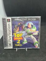 PS1 Game Toy Story 2 Buzz Lightyear to the Rescue Collectors - cracked case