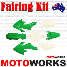 Plastics Guard Fairing Fender Kit CRF50 Style PIT PRO Trail BIKE Dirt Bike GREEN