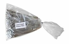 Aluminum Chain Link Fence Ties #33 100 Count Pack 6 1/2 Inch Long