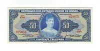 50 Cruzeiros Brasilien 1956 C025 / P.152a - Brazil Banknote