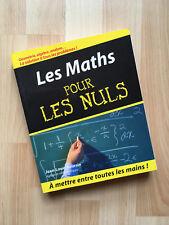 Neuf - Les Maths pour les nuls - Mathematik für Dummies (französische Ausgabe)
