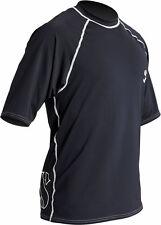 ScubaPro Men's Short Sleeve Loose fit Rash Guard--2XL Black