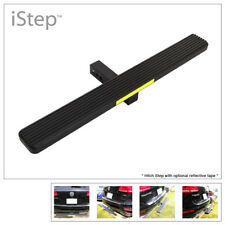 """iStep Universal 36"""" Black Aluminum Rear 2"""" Class 3 Hitch Mounting Hitch Step"""